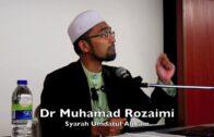 18082017 Dr Muhamad Rozaimi : Syarah Umdatul Ahkam