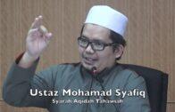 19062017 Ustaz Mohamad Syafiq : Syarah Aqidah Tahawiah