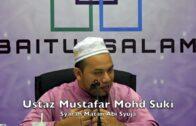 20170909 Ustaz Mustafar Mohd Suki : Syarah Matan Abi Syuja