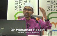 20171101 Dr Muhamad Rozaimi : Syarah Fiqh Manhaji