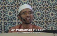 20171102 Dr Muhamad Rozaimi : Syarah Umdatul Ahkam