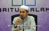 20171114 Ustaz Mohamad Azraie : Syarah Fiqh Akhlak