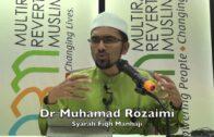 20171122 Dr Muhamad Rozaimi : Syarah Fiqh Manhaji