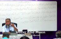20171122 Ustaz Abd Muen : Tadabur Al Quran