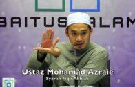 20180220 Ustaz Mohamad Azraie : Syarah Fiqh Akhlak