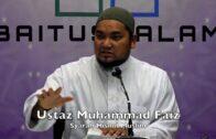 20180225 Ustaz Muhammad Faiz : Syarah Hisnul Muslim