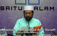 20180317 Maulana Muhammad Asri Yusoff : Ilmu Ilal Hadith