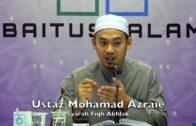 20180501 Ustaz Mohamad Azraie : Syarah Fiqh Akhlak