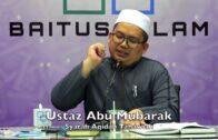 20180507 Ustaz Abu Mubarak : Syarah Aqidah Tahawiah