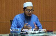 20180526 Ustaz Ahmad Hasyimi : Syarah Talbis Iblis