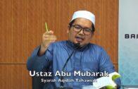 20180604 Ustaz Abu Mubarak : Syarah Aqidah Tahawiah