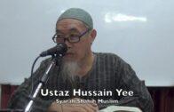 20181010 Ustaz Hussain Yee : Syarah Shahih Muslim