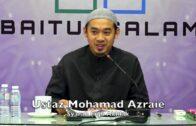 20181023 Ustaz Mohamad Azraie : Syarah Fiqh Akhlak