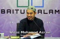 20181120 Ustaz Mohamad Azraie : Syarah Fiqh Akhlak