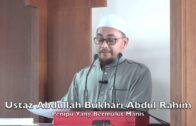 20181221 Ustaz Abdullah Bukhari Abdul Rahim : Penipu Yang Bermulut Manis