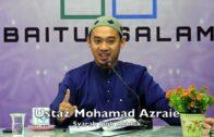 20190101 Ustaz Mohamad Azraie : Syarah Fiqh Akhlak