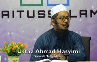 20190112 Ustaz Ahmad Hasyimi : Syarah Talbis Iblis