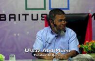 20190123 Ustaz Abd Muen : Tadabur Al Quran