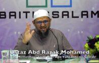 20190218 Ustaz Abd Razak Mohamed : Motivasi Memelihara Lisan Dari Apa Yang Dibenci Syarak!