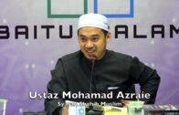 20190416 Ustaz Mohamad Azraie : Syarah Shahih Muslim