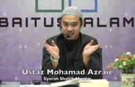 20190611 Ustaz Mohamad Azraie : Syarah Shahih Muslim