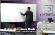 20190801 Ustaz Dr Tuan Badrul Hisyam : Syarah Tafsir Ahkam Al Quran