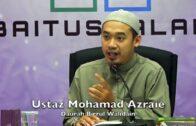 27082017 Ustaz Mohamad Azraie : Daurah Birrul Walidain