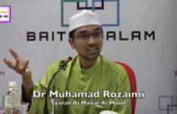 BERGADUH DALAM PAGE SAYA TENTANG HADIS TERLALU DHAIF – DR ROZAIMI RAMLE