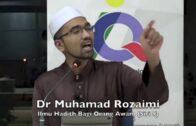 Sebelum Jadi BAHAN, Baik Kita Mengaku Dulu   Dr Rozaimi Ramle