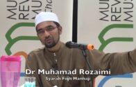 'Tarik' Orang Sebelah Untuk Rapatkan Saf – DR ROZAIMI RAMLE