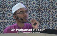 20170915 Dr Muhamad Rozaimi : Syarah Umdatul Ahkam
