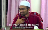 20170929 Dr Muhamad Rozaimi : Syarah Riyadhushalihin