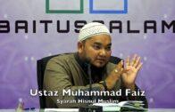 20171107 Ustaz Muhammad Faiz : Syarah Hisnul Muslim