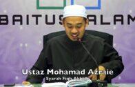 20171121 Ustaz Mohamad Azraie : Syarah Fiqh Akhlak