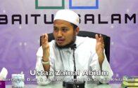 20171218 Ustaz Zainal Abidin : Berlapang Dada & Berlemah Lembut Di Sebalik Khilaf Fiqh