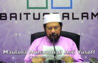 20180106 Maulana Muhammad Asri Yusoff : Syarah Shahih Al Bukhari