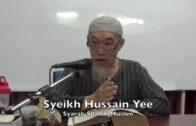 20180725 Ustaz Hussain Yee : Syarah Shahih Muslim