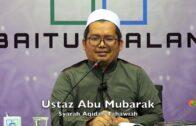 20190325 Ustaz Abu Mubarak : Syarah Aqidah Tahawiah