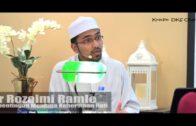 Pengalaman MENEGUR Khatib – DR ROZAIMI RAMLE