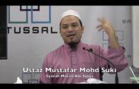 01042017 Ustaz Mustafar Mohd Suki : Syarah Matan Abi Syuja