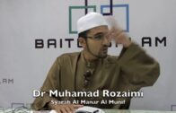 03082016 Dr Muhamad Rozaimi : Syarah Al Manar Al Munif