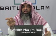 07082016 Sheikh Hazem Rajab : Fear From Allah