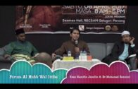 08042017 Ustaz Kamilin Jamilin & Dr Muhamad Rozaimi : Forum Al Hubb Wal Ittiba'