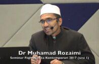 09022017 Dr Muhamad Rozaimi : Seminar Fiqh Wanita Kontemporari (sesi 1)
