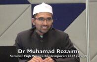 09022017 Dr Muhamad Rozaimi : Seminar Fiqh Wanita Kontemporari (sesi 2)