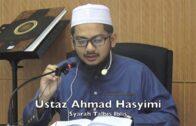 10062017 Ustaz Ahmad Hasyimi : Syarah Talbis Iblis