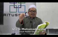 12022017 Ustaz Mohamad Syafiq : Syarah Aqidah Tahawiah