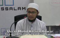 13122016 Ustaz Mohd Khairil Anwar : Tidak Akan Bergeser Kedua Kaki Pada Hari Kiamat