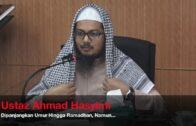 14062017 Ustaz Ahmad Hasyimi : Dipanjangkan Umur Hingga Ramadhan, Namun…