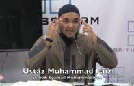 15012017 Ustaz Muhammad Faiz : Syarah Syamail Muhammadiyah